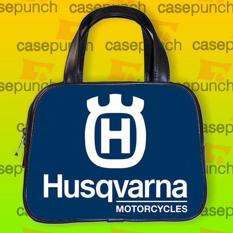 An1-husqvarna Motor Logo Handbag Purse Woman Bag Classic