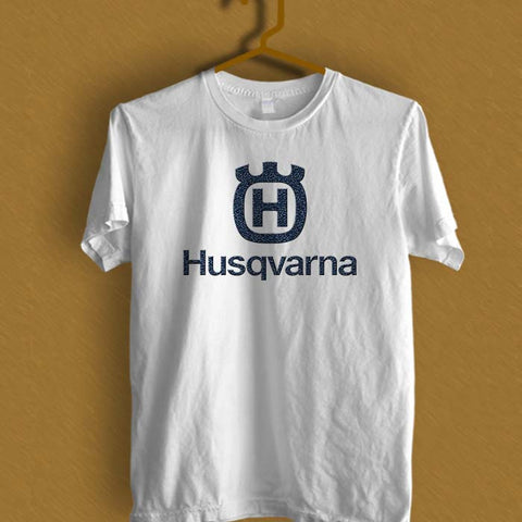 HUSQVARNA motor logo T-shirt (longsleeve Hoodie Tank Top & T-shirt Available)