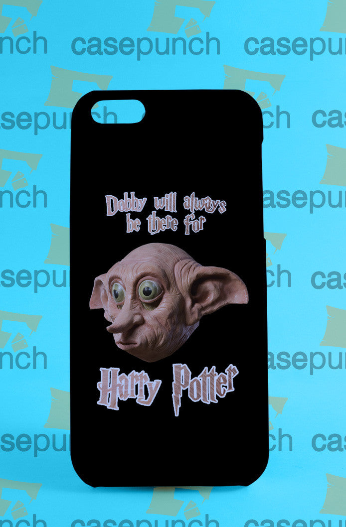 Mz4-harry Potter Dobby House For Iphone 6 6 Plus 5 5s Galaxy S5 S5 Mini S4 & Other Smartphone Hard Back Case Cover