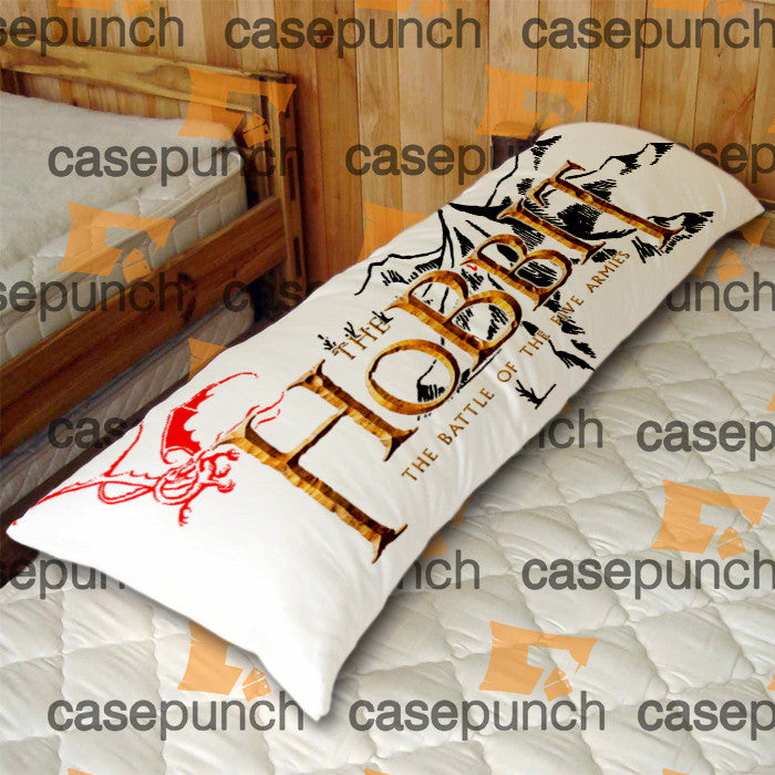 An1-hobbit An Unexpected Journey Logo Body Pillow Case