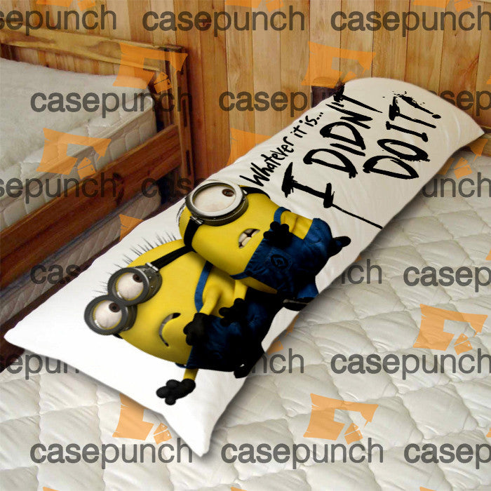 An2 I Didn T Do It Despicable Me Minion Body Pillow Case Casepunch