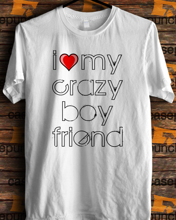 Sr3-i Love My Crazy Boyfriend Valentine Humor (longsleeve Crop Top Tank Top & Hoodie Available)