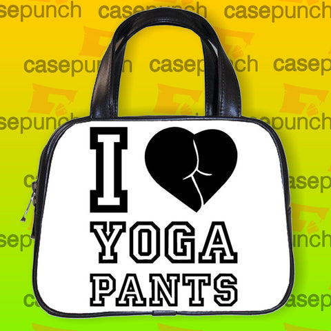 An1-i Love Yoga Pants Handbag Purse Woman Bag Classic
