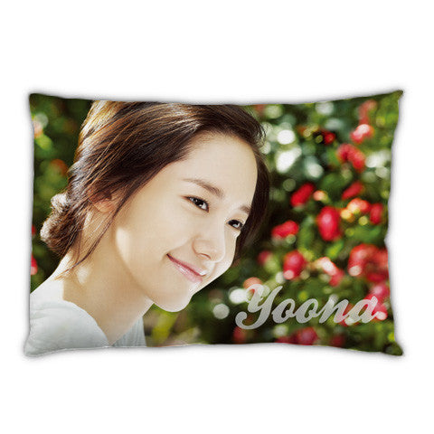 snsd girls' generation im yoona yoon ah nam choding Pillow Case For Bed Bedding