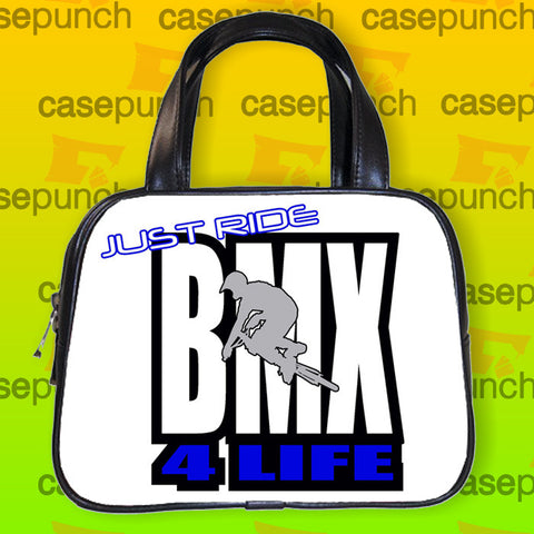 An1-just Ride Bmx Bicycle Handbag Purse Woman Bag Classic