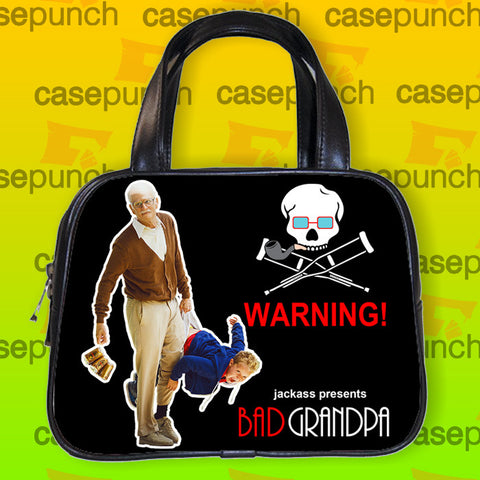 An1-jackass Presents Bad Grandpa Handbag Purse Woman Bag Classic