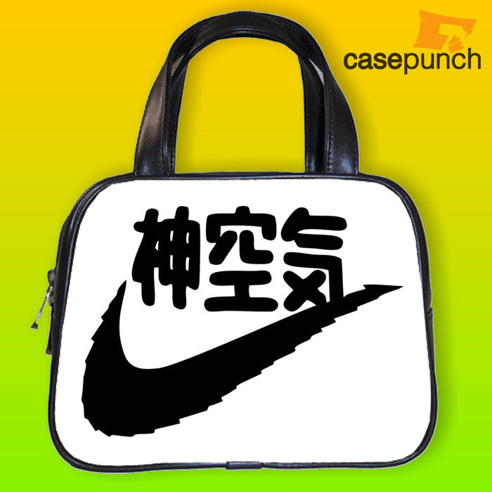 An1-japanese Lettering Nike Logo Handbag Purse Woman Bag Classic