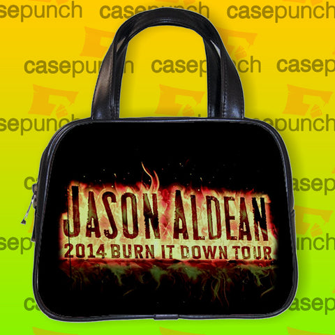 An1-jason Aldean Burn It Down Tour Handbag Purse Woman Bag Classic