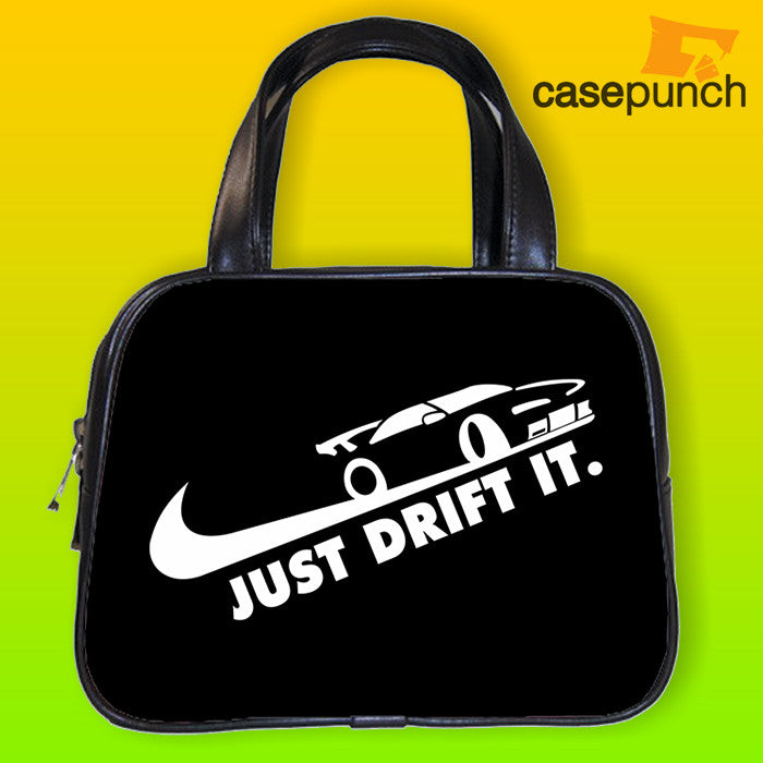 An1-just Drift It  Funny Racing Turbo Handbag Purse Woman Bag Classic