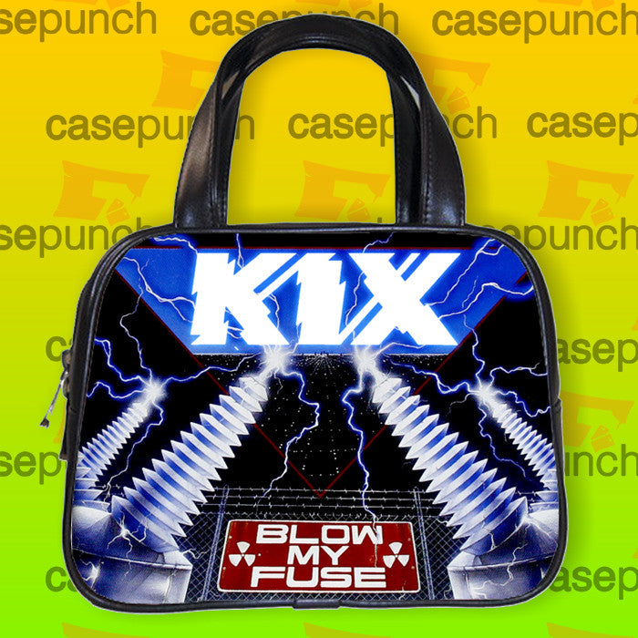 An1-kix Blow My Fuse Rock Band Handbag Purse Woman Bag Classic