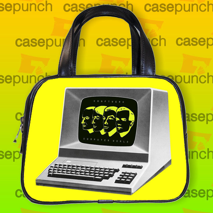 An1-kraftwerk Computer World Handbag Purse Woman Bag Classic