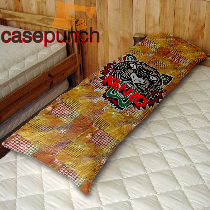An1-kenzo Tiger Hip Hop Logo Body Pillow Case