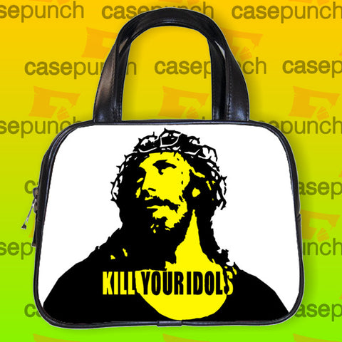 An1-kill Your Idols Rock Axl Rose Handbag Purse Woman Bag Classic