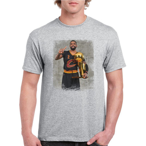 Kyrie Irving Black Cleveland Cavaliers 2016 Champions T-shirt (longsleeve Crop Top Tank Top & Hoodie Available)