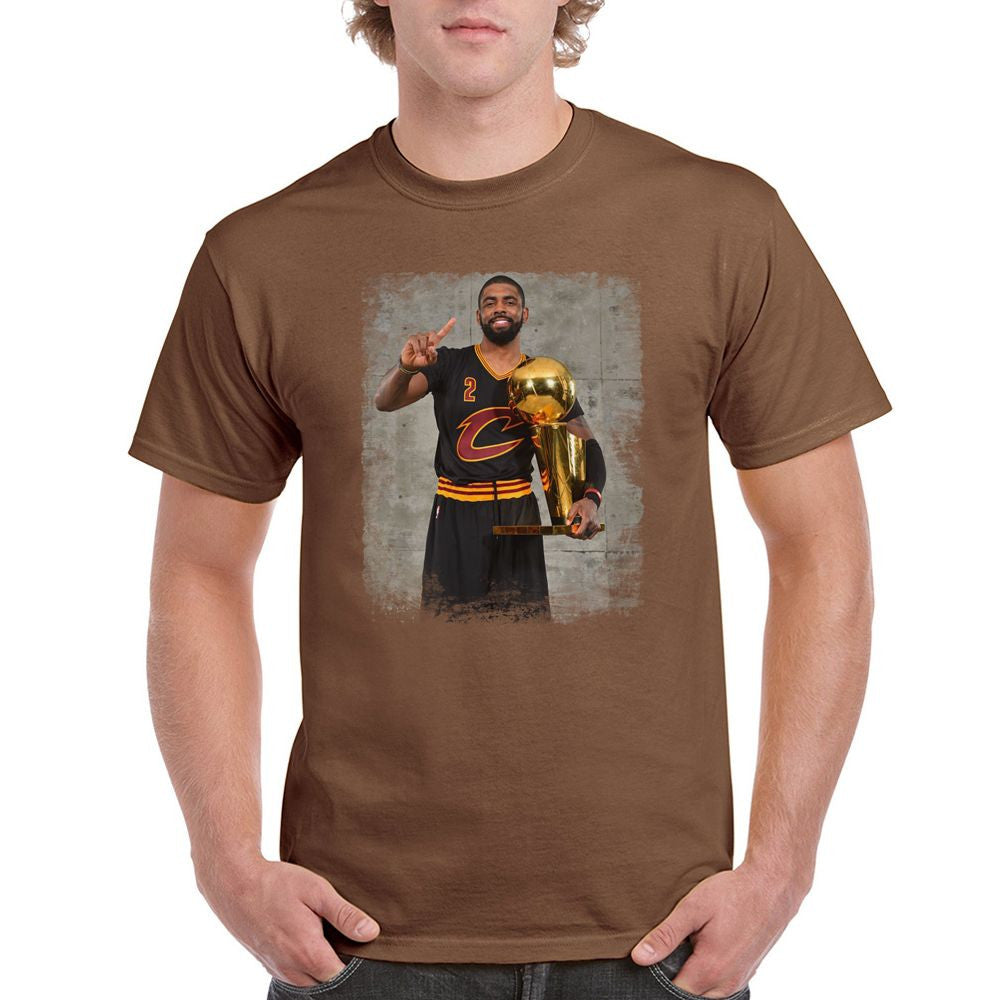 Copy of Kyrie Irving Black Cleveland Cavaliers 2016 Champions T-shirt (longsleeve Crop Top Tank Top & Hoodie Available)