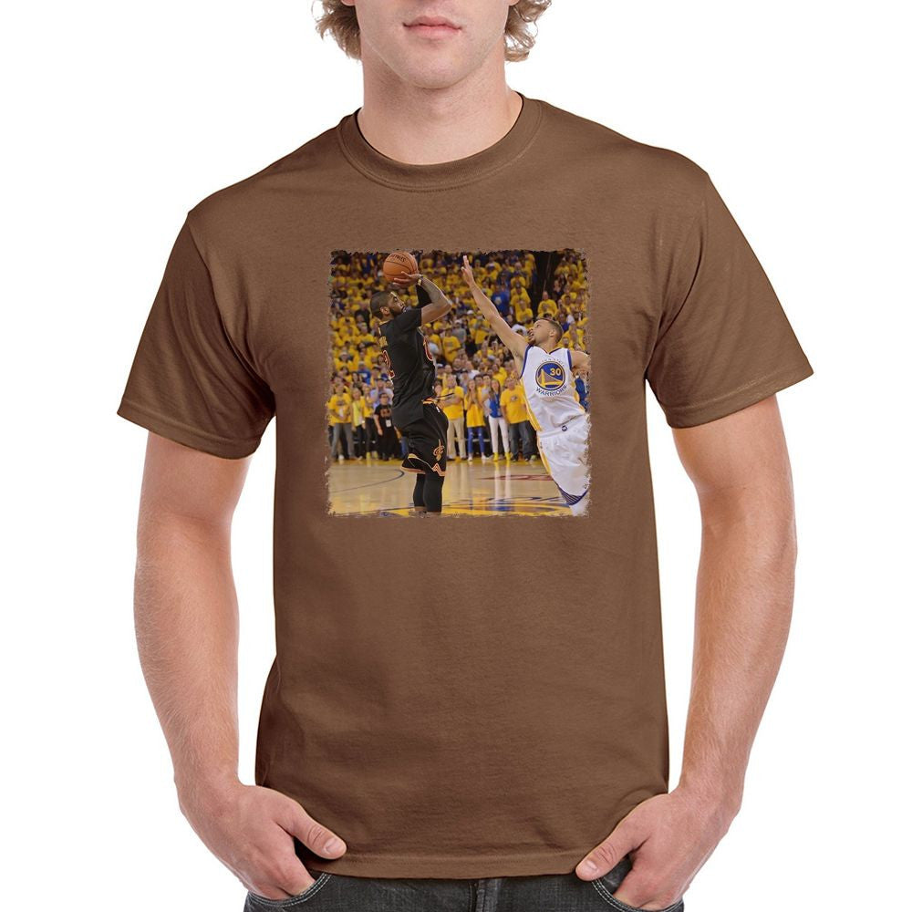 e9afa9cf Kyrie Irving Black Cleveland Cavaliers VS Stephen Curry 2016 NBA Finals T- shirt (longsleeve Crop Top Tank Top & Hoodie Available)