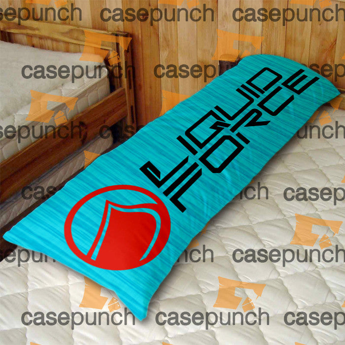An1-liquid Force Wake Board Body Pillow Case