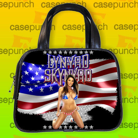 An1-lynyrd Skynyrd God And Guns Rock Handbag Purse Woman Bag Classic