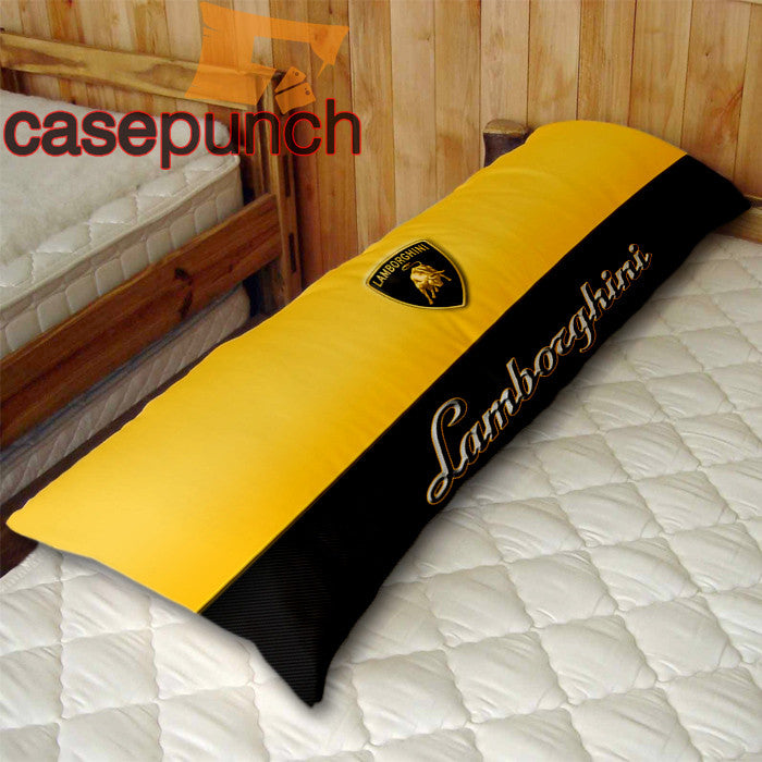 An1-lamborghini Car Logo Body Pillow Case