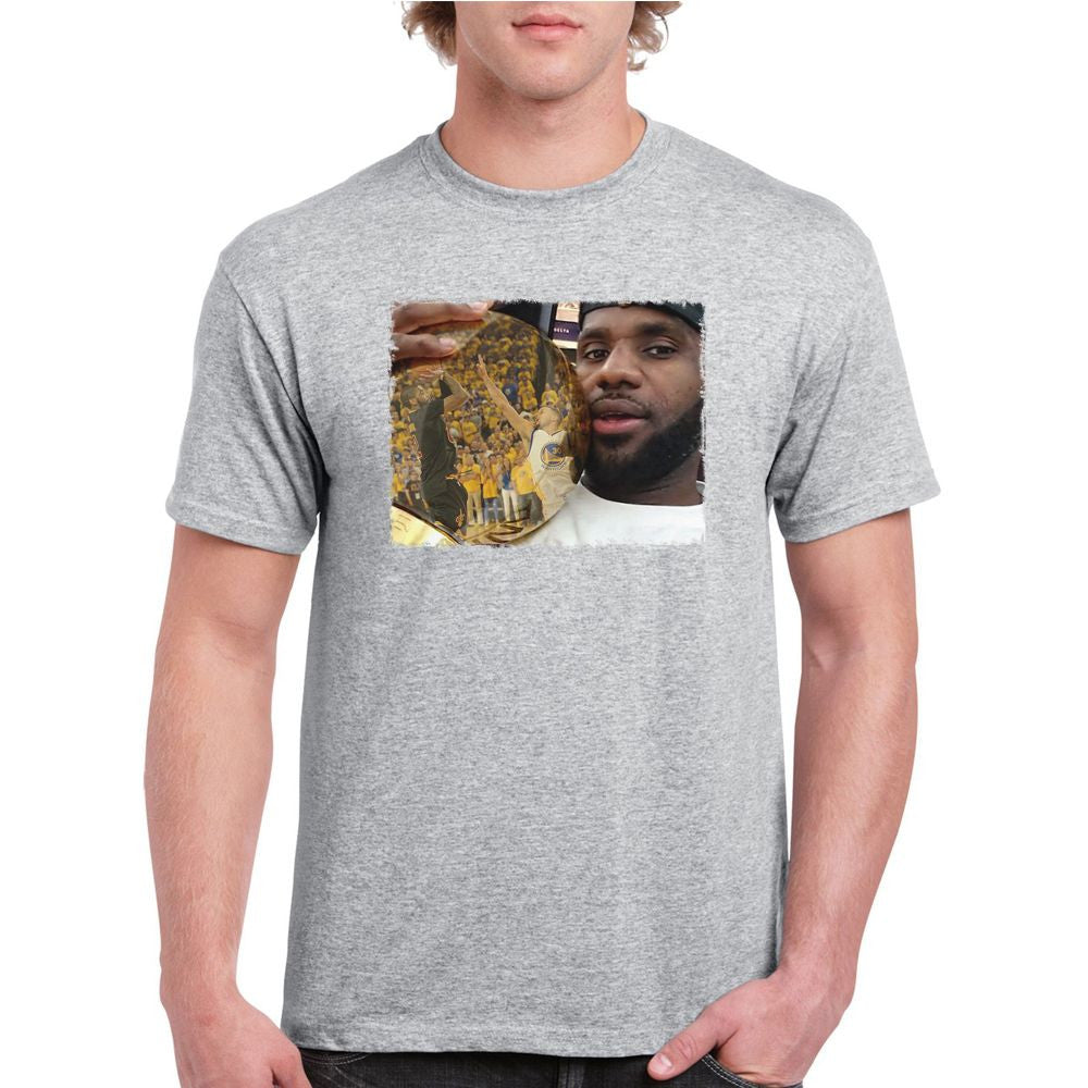 LeBron James championship trophy T-shirt (longsleeve Crop Top Tank Top    Hoodie Available) 84f33806ab06