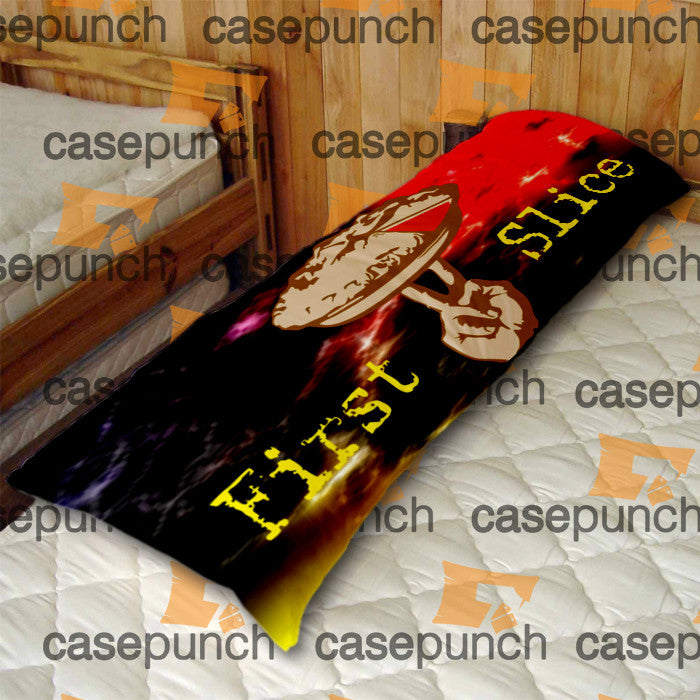 An3-love At First Slice Valentine's Day Body Pillow Case