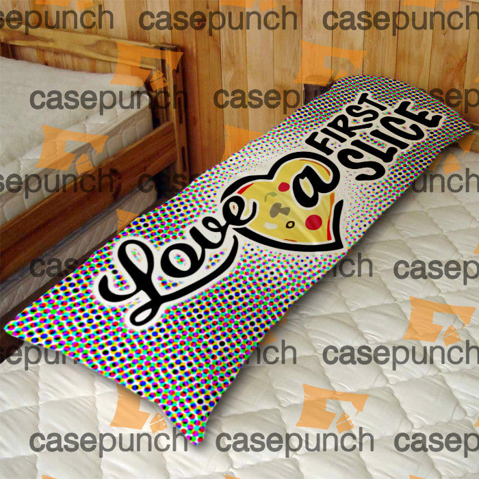 An4-love At First Slice Valentine's Day Body Pillow Case