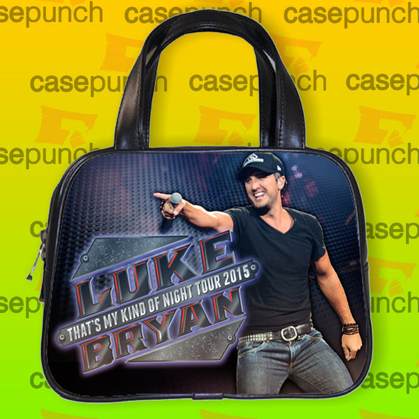 An1-luke Bryan That's My Kind Of Night Tour 2015 Handbag Purse Woman Bag Classic