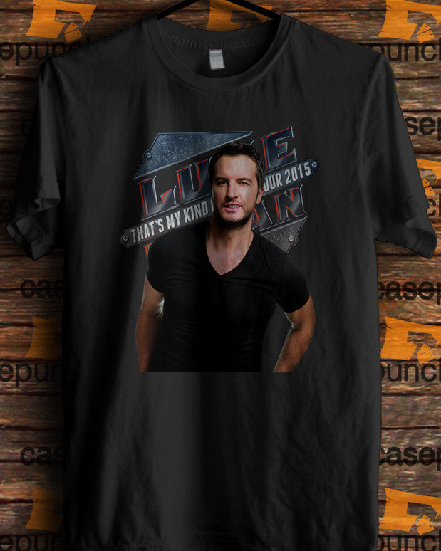 Sr2-luke Bryan That's My Kind Of Night Tour 2015 (longsleeve Crop Top Tank Top & Hoodie Available)