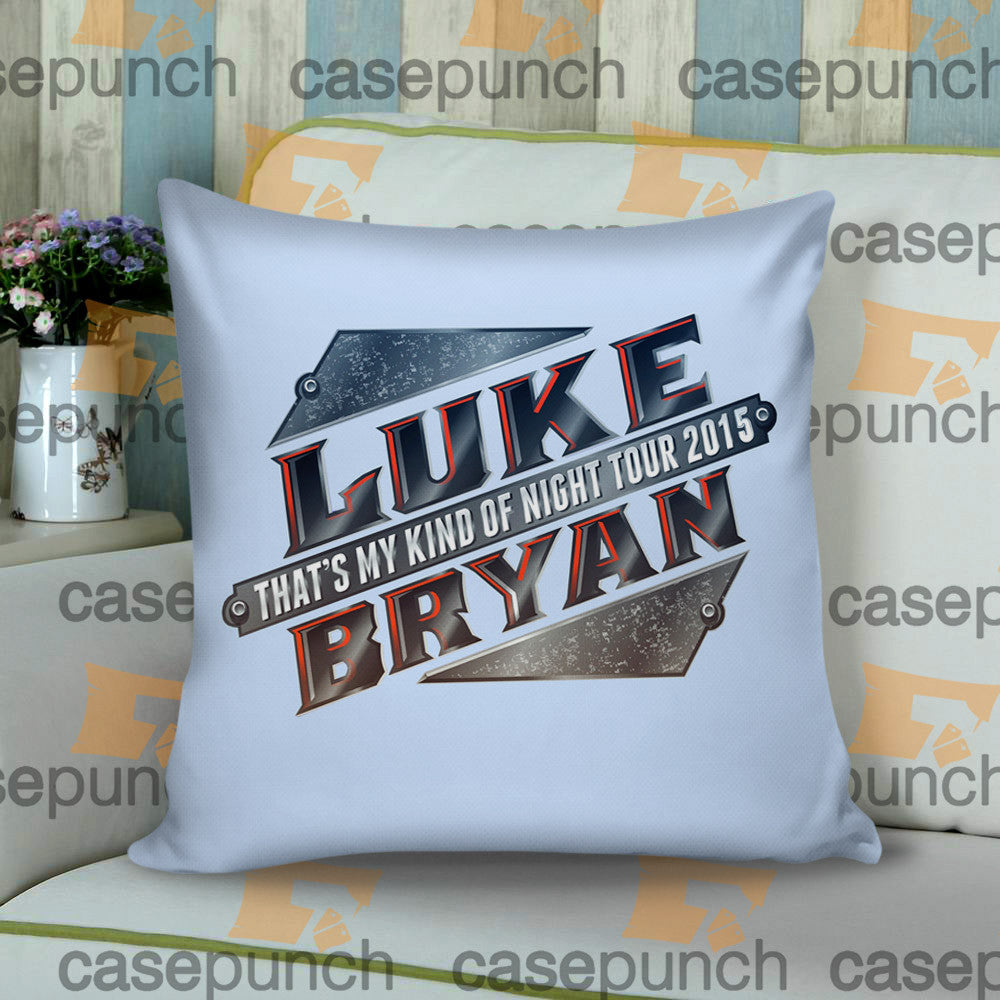 Sr2-luke Bryan That's My Kind Of Night Tour 2015 Cushion Pillow Case
