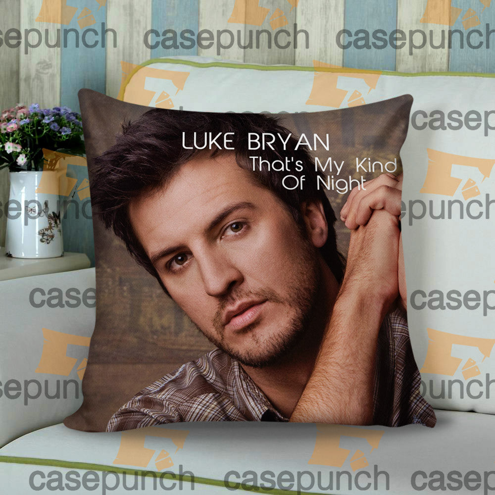 Sr5-luke Bryan That's My Kind Of Night Tour 2015 Cushion Pillow Case