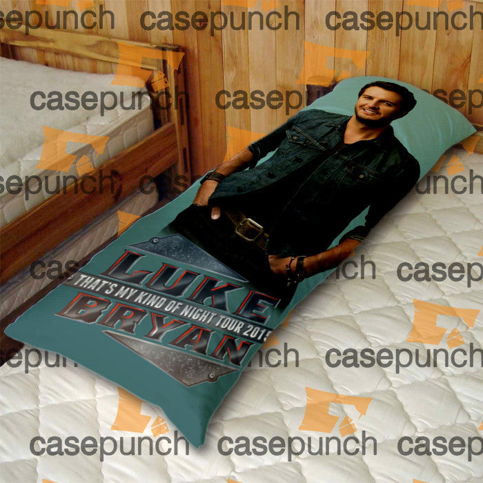 An6-luke Bryan That's My Kind Of Night Tour 2015 Body Pillow Case