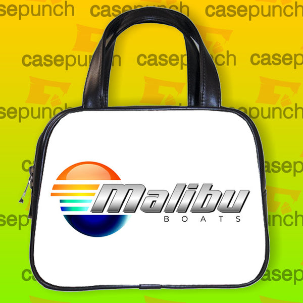 An1-malibu Boats Logo Handbag Purse Woman Bag Classic