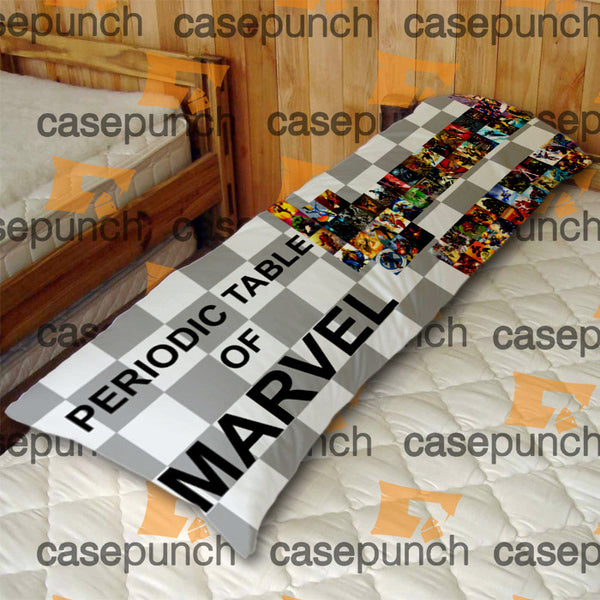 An1-marvel Comics Periodic Table Body Pillow Case