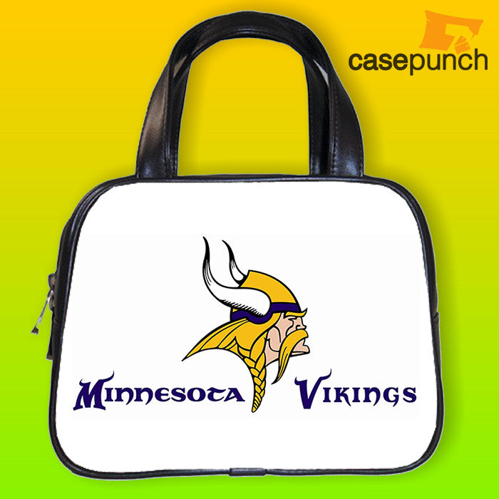 An1-minnesota Vikings Football Logo Handbag Purse Woman Bag Classic
