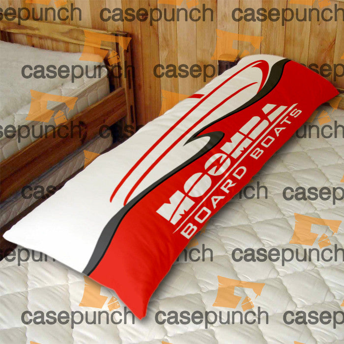 An1-moomba Board Boat Logo Body Pillow Case