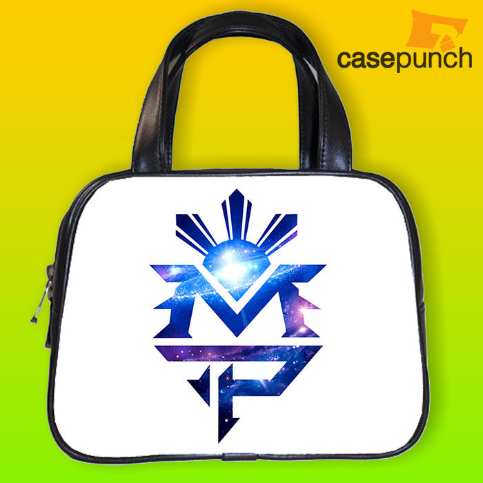 An1-mp Galaxy Logo Manny Pacquiao Handbag Purse Woman Bag Classic