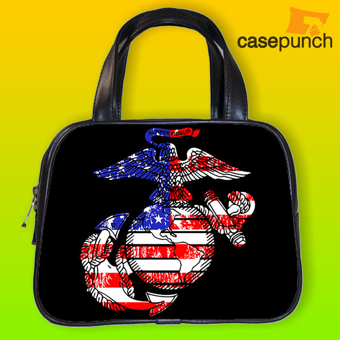 An1-marine Corps Logo Anchor Eagle Usmc Handbag Purse Woman Bag Classic