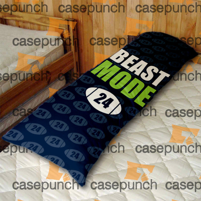 An1-marshawn Lynch Beast Mode Body Pillow Case