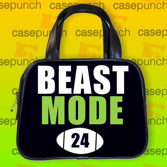 An1-marshawn Lynch Beast Mode Handbag Purse Woman Bag Classic