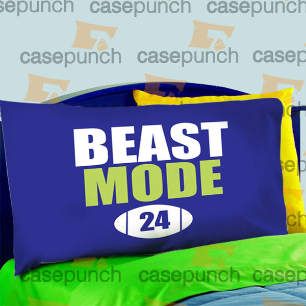 Mz7-marshawn Lynch Beast Mode Pillow Case For Bed Bedding