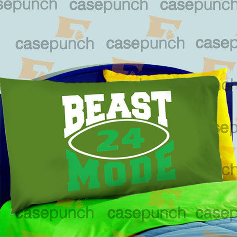 Mz8-marshawn Lynch Beast Mode Pillow Case For Bed Bedding