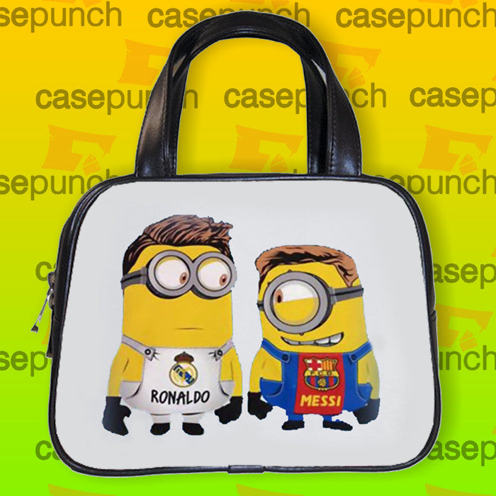 An1-messi Ronaldo Friend In Minion Handbag Purse Woman Bag Classic
