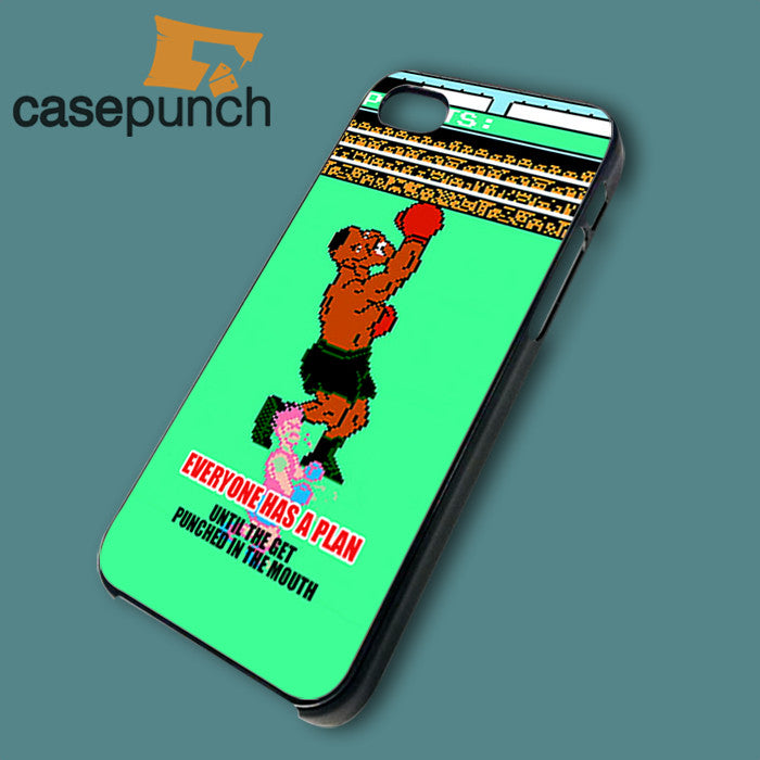 Mz2-mike Tyson Punchout Video Games For Iphone 6 6 Plus 5 5s Galaxy S6 S5  S5 Mini S4 & Other Smartphone Hard Back Case Cover