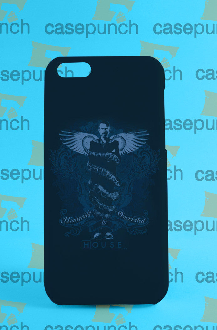 Mz4-nbc House Humanity Is Overrated For Iphone 6 6 Plus 5 5s Galaxy S5 S5 Mini S4 & Other Smartphone Hard Back Case Cover