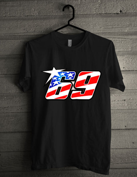 NEW 2017!! RIP Nicky Hayden 69 logo T-shirt (longsleeve Crop Top Tank Top & Hoodie Available)