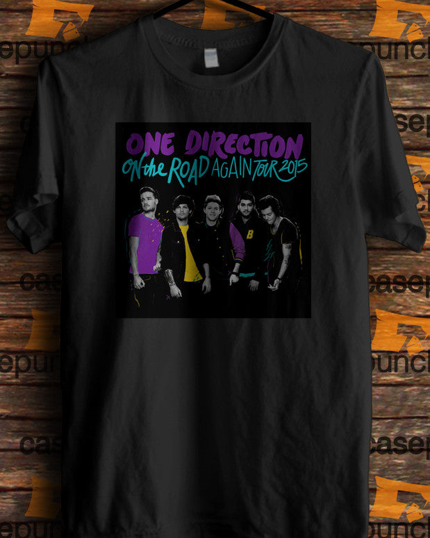 Sr2-one Direction On The Road Again Tour 2015 (longsleeve Crop Top Tank Top & Hoodie Available)