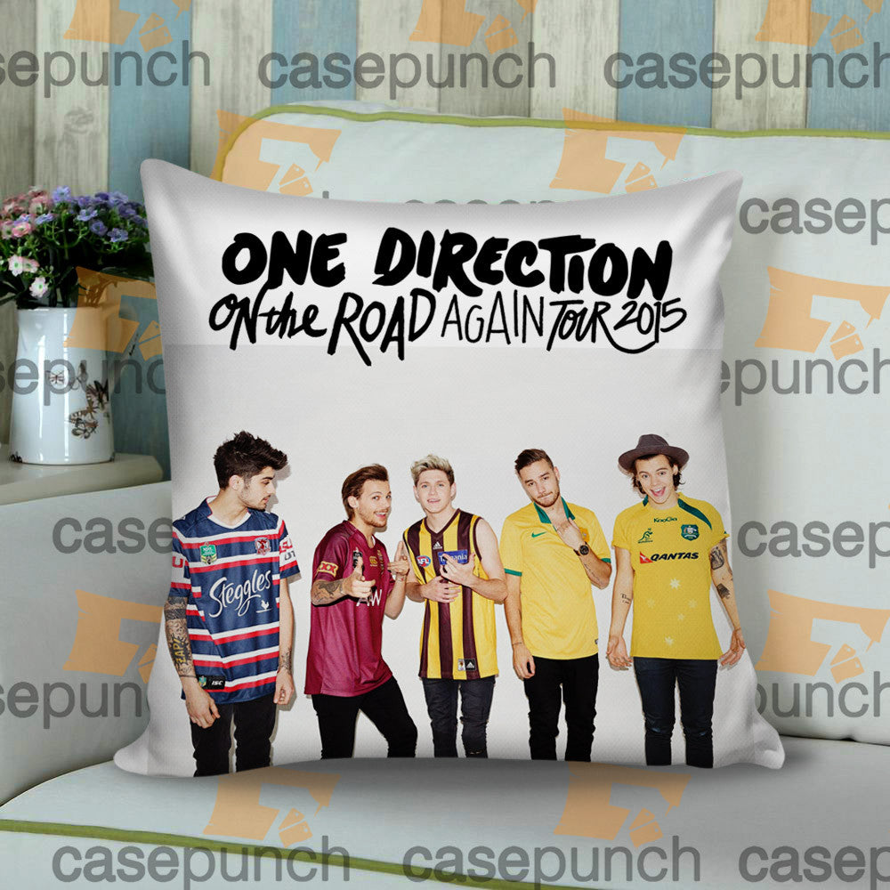 Sr3-one Direction On The Road Again Tour 2015 Cushion Pillow Case