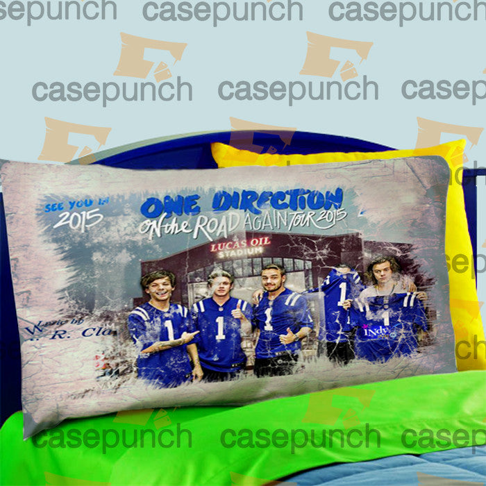 Mz3-one Direction On The Road Again Tour 2015 Pillow Case For Bed Bedding