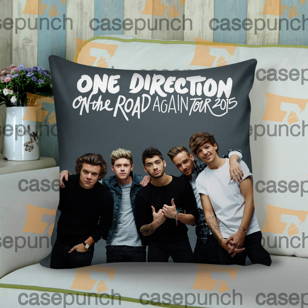 Sr5-one Direction On The Road Again Tour 2015 Cushion Pillow Case