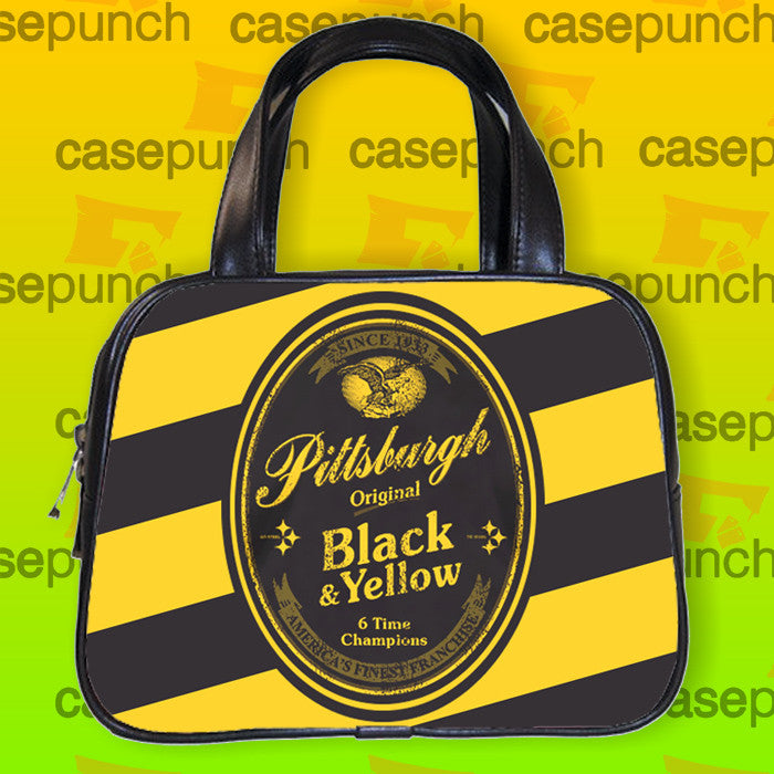 An1-pittsburgh Football Yeungling Label Handbag Purse Woman Bag Classic